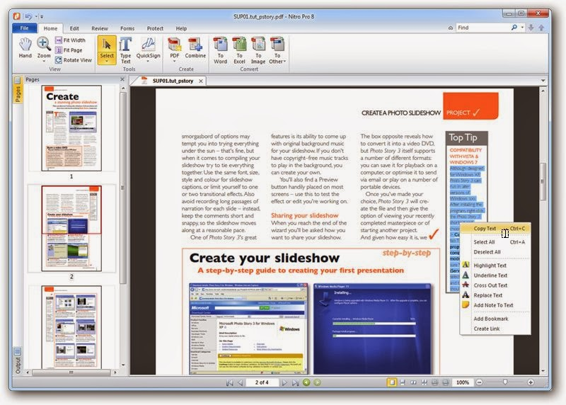 Nitro PDF Professional Enterprise v9.0