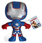Toy Fair 2013 : Funko on Iron Man 3 (funko iron man iron patriot plush)