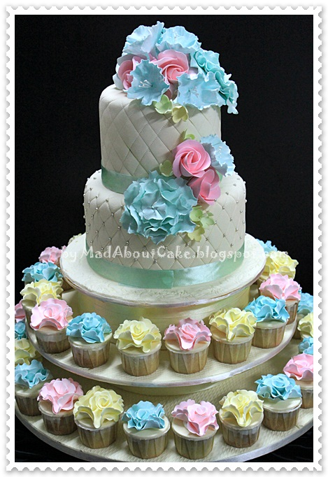 Cake Design In Kl : Mad About Cake: Wedding Cake by Mad About Cake Malaysia