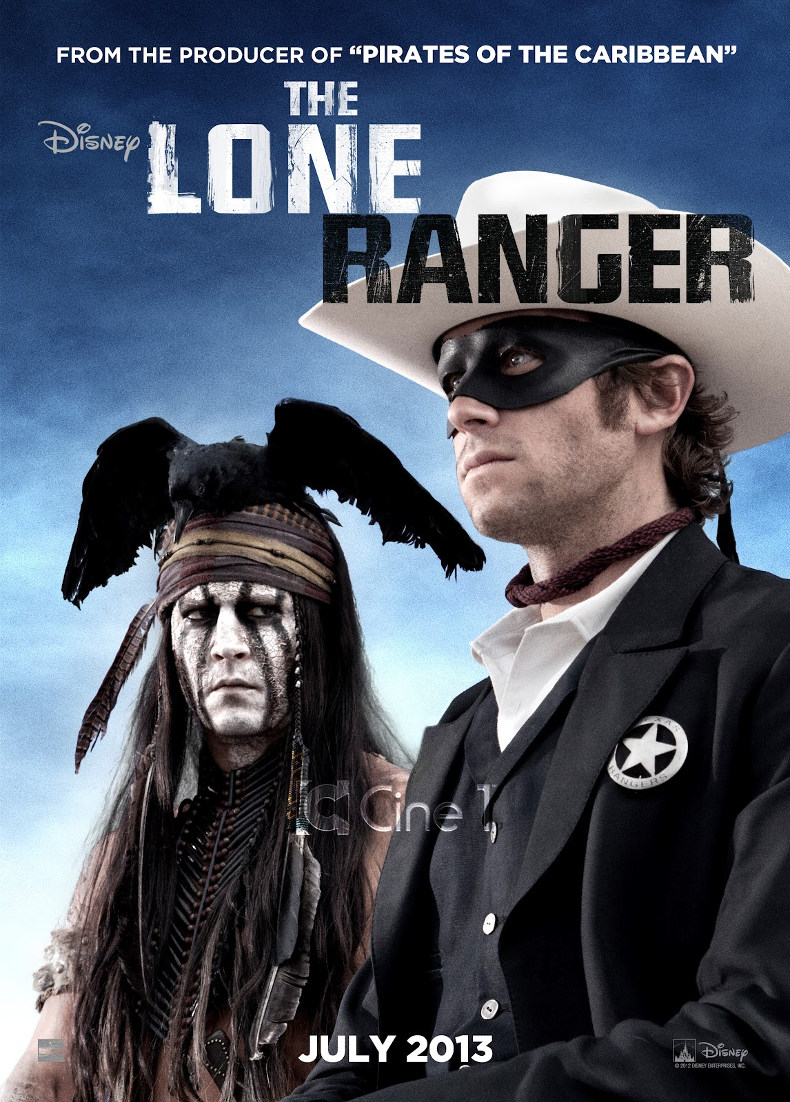 The Lone Ranger ...