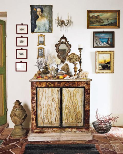 Umbria Foyer Table : The foyer design ideas maureen stevens