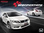 Fitur Spesifikasi Mobil All New Honda Civic