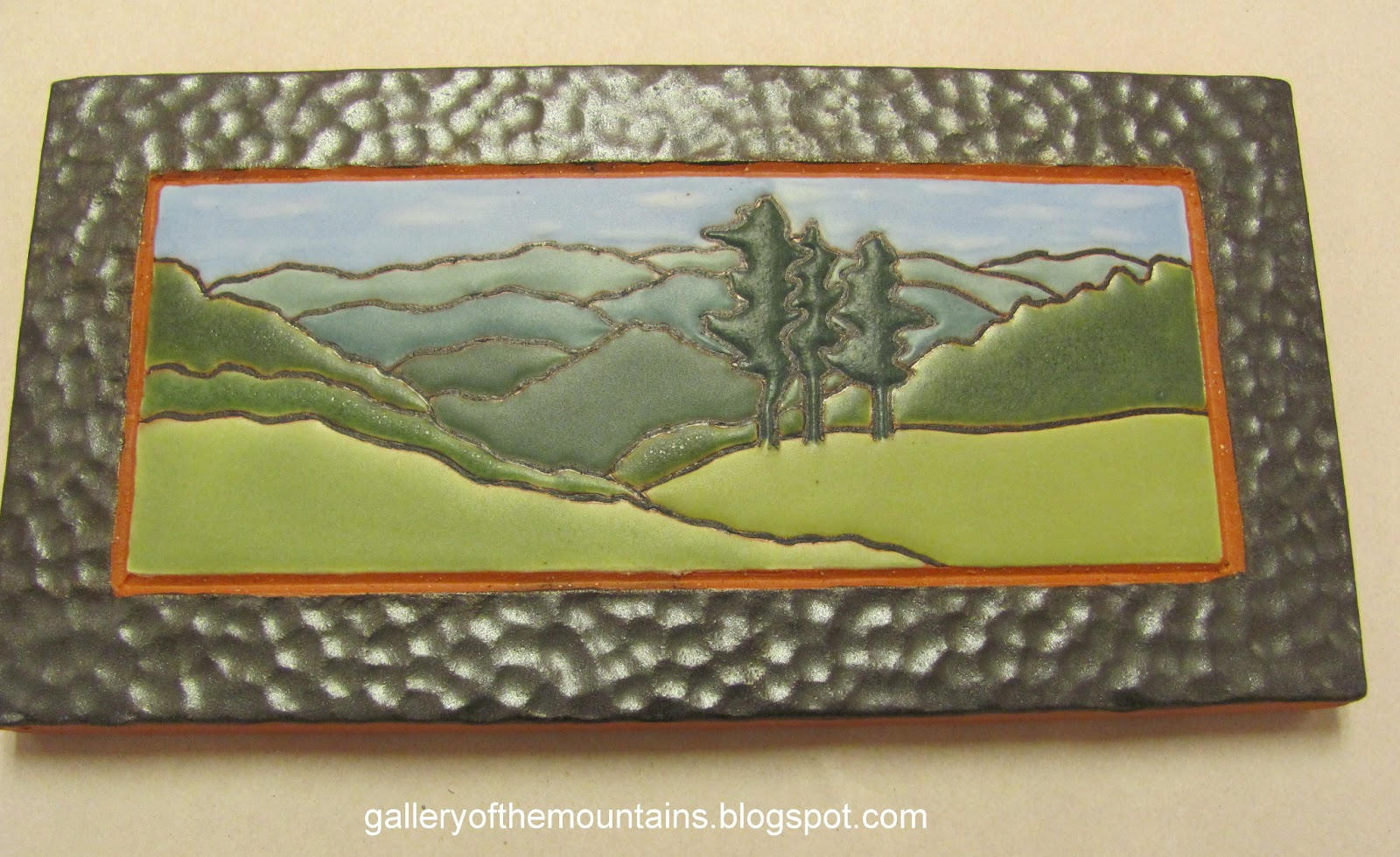 Gallery of the mountains february 2013 for Arts and crafts floor tile