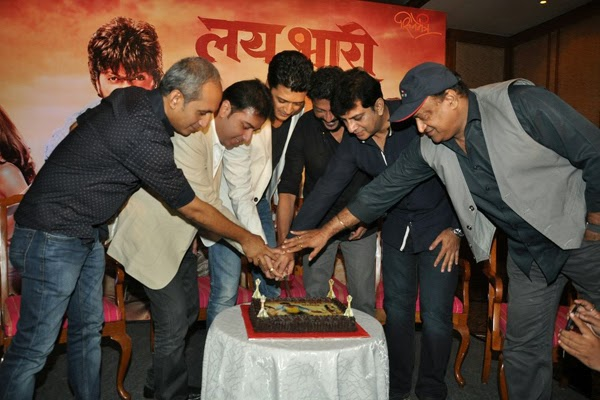 Riteish Deshmukh's success bash for Lai Bhaari marathi movie