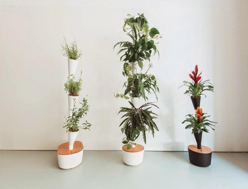 Maceteros modulares para jardines verticales for Modulo jardin vertical