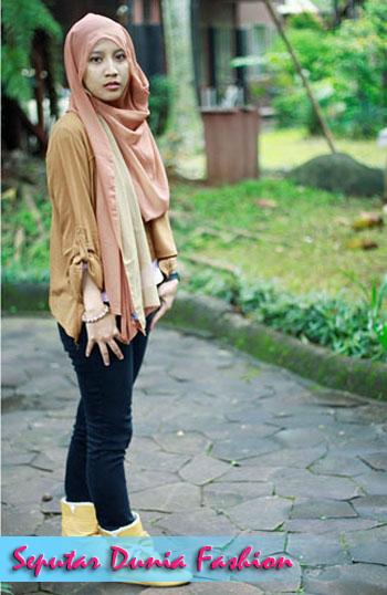 15 Model Baju Muslim Untuk Hangout Terbaik Dan Terbaru