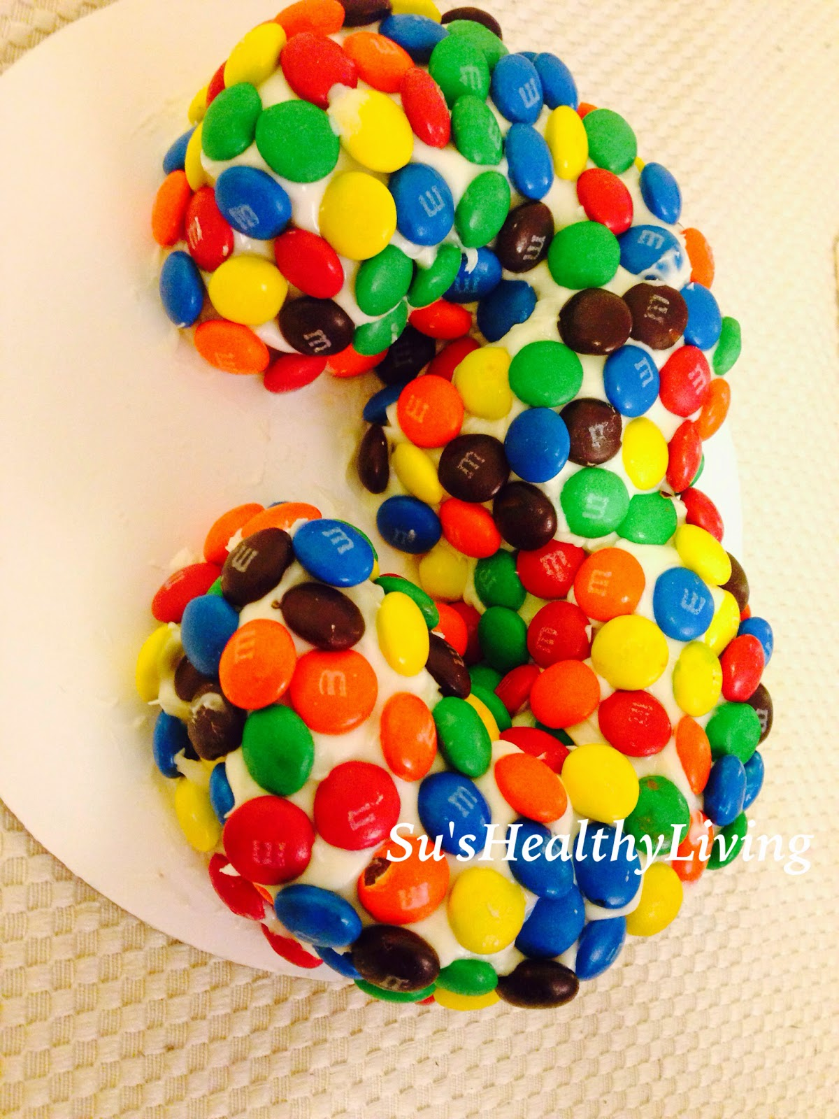 Sus Healthy Living Number Cake