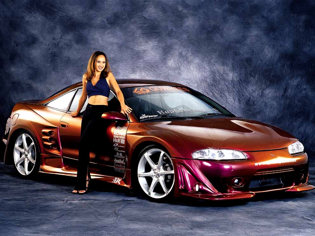 japanese sport cars: girls and cars wallpaper