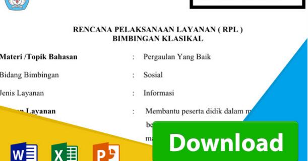 Perangkat Dan Program Guru Bk Kurikulum 2013 Kurikulum 2013 Revisi