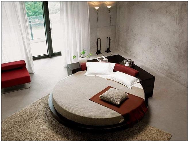 chambre coucher de r ve lits circulaires d cor de maison d coration chambre. Black Bedroom Furniture Sets. Home Design Ideas