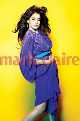 Genelia D'Souza on Marie Claire Magazine