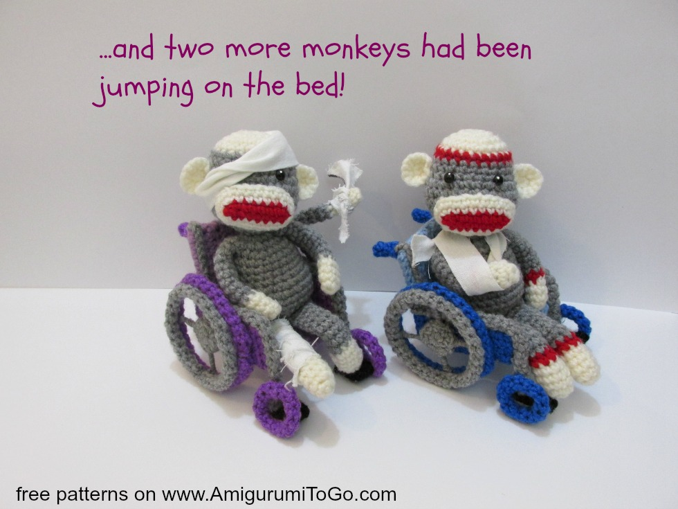 crochet monkeys