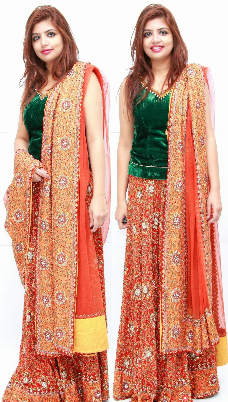 Give Fresh Look To An Old Lehenga