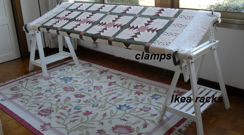 Diy Quilting Frame Images - Reverse Search : homemade quilting frame - Adamdwight.com