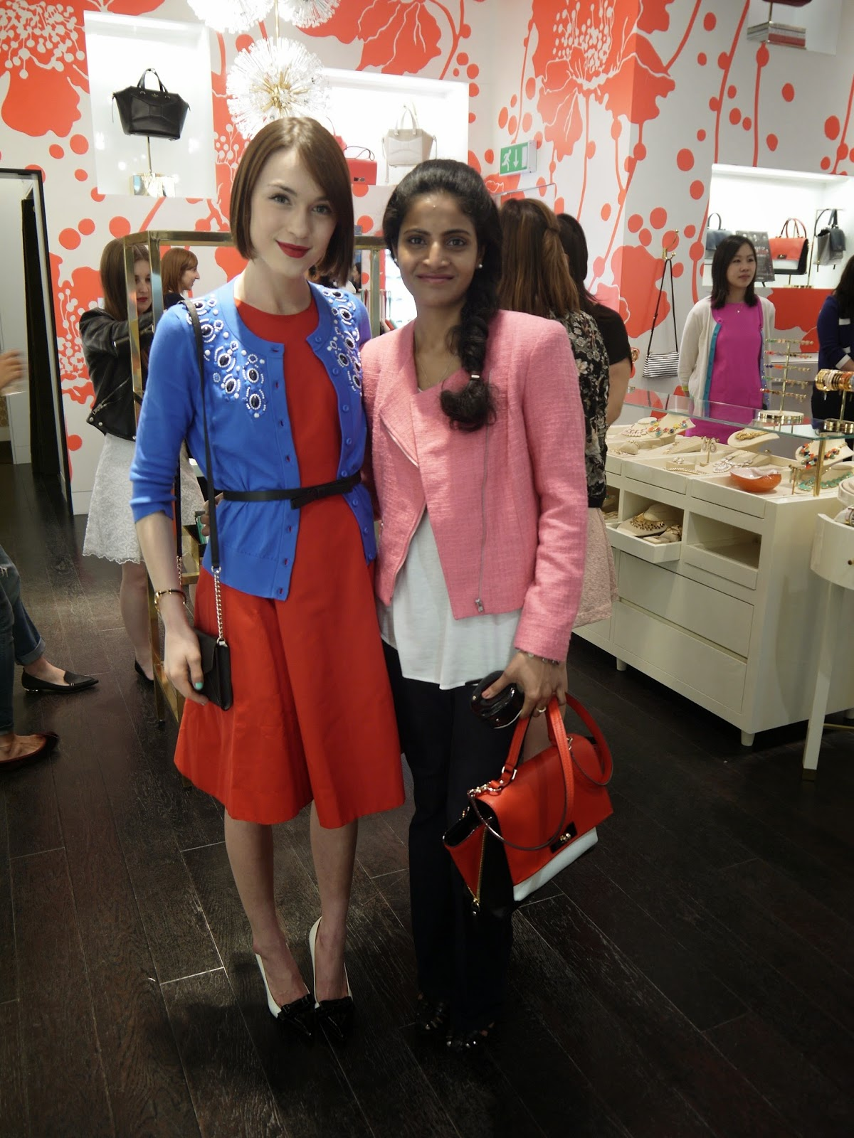 Kate Spade Event with Ella Catliff