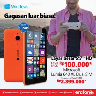 Promo Nokia / Microsoft Terbaru Oktober 2015
