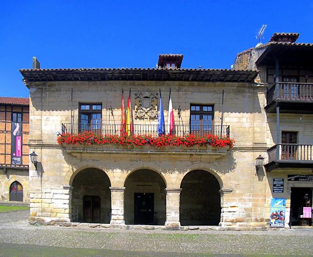 Edificio del Ayuntamiento de Santillana del Mar