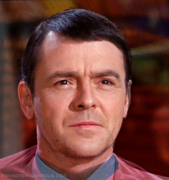 Who is the better Scotty Simon Pegg or James Doohan?