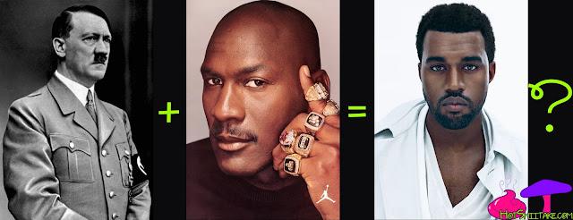 Kanye West Hitler