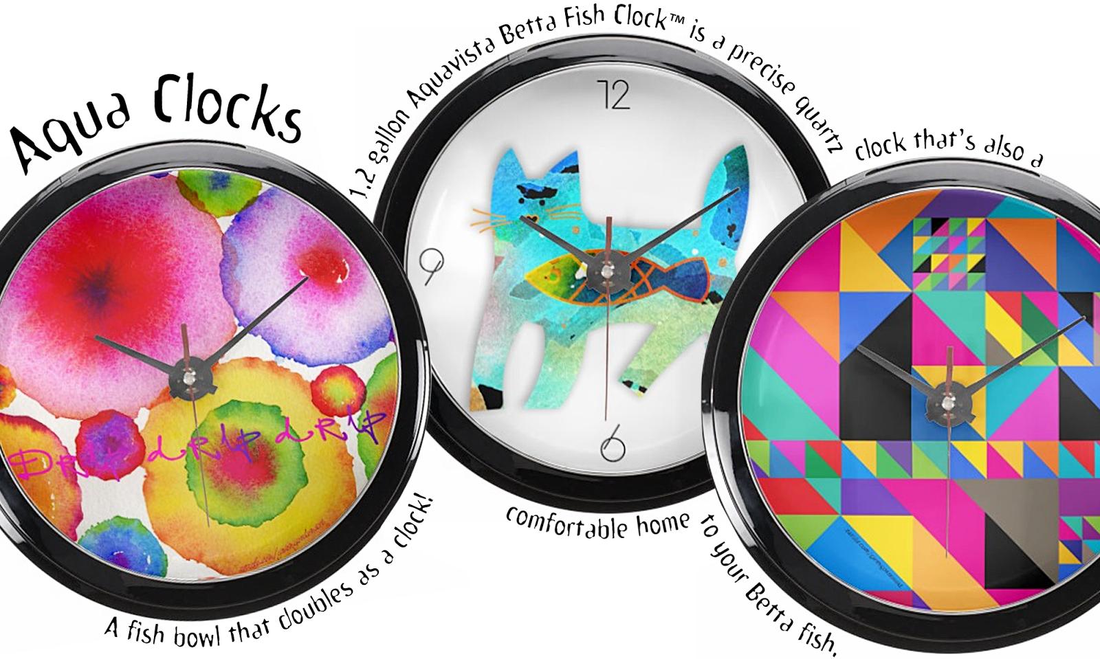 AQUA CLOCKS