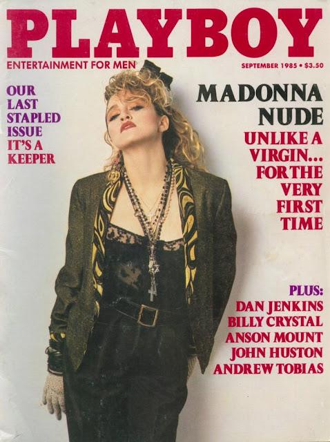 Confira fotos da rainha do pop Madonna, na capa da Playboy americana de setembro de 1985, Confira também as polêmicas fotos e video de Madonna mostrando os seios em show e fotos sensuais da musa durante sua carreira!