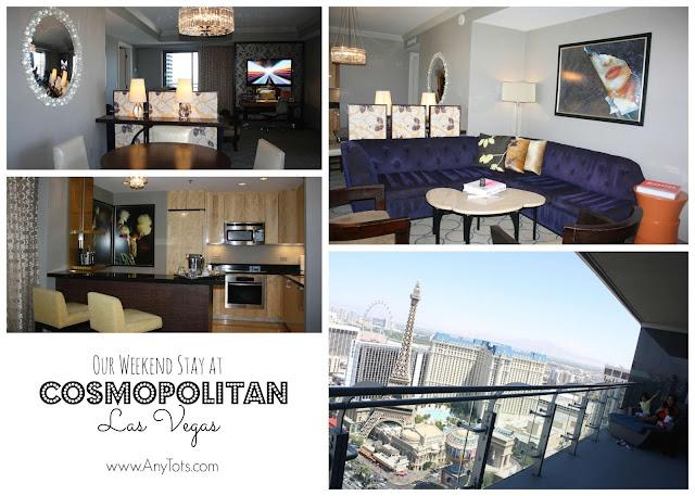 Cosmopolitan Las Vegas 1BR Suite Interior Design