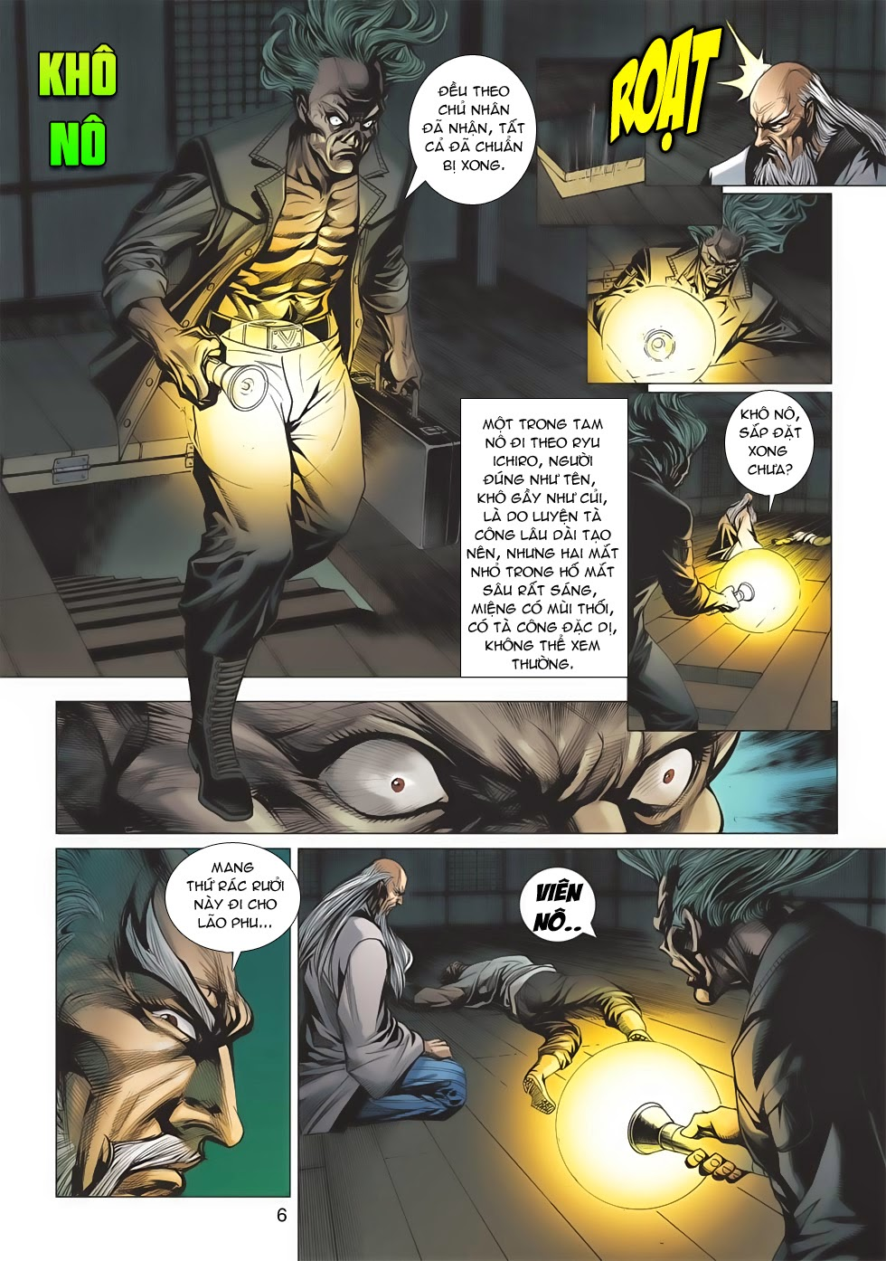 Tân Tác Long Hổ Môn chap 643 - Trang 6