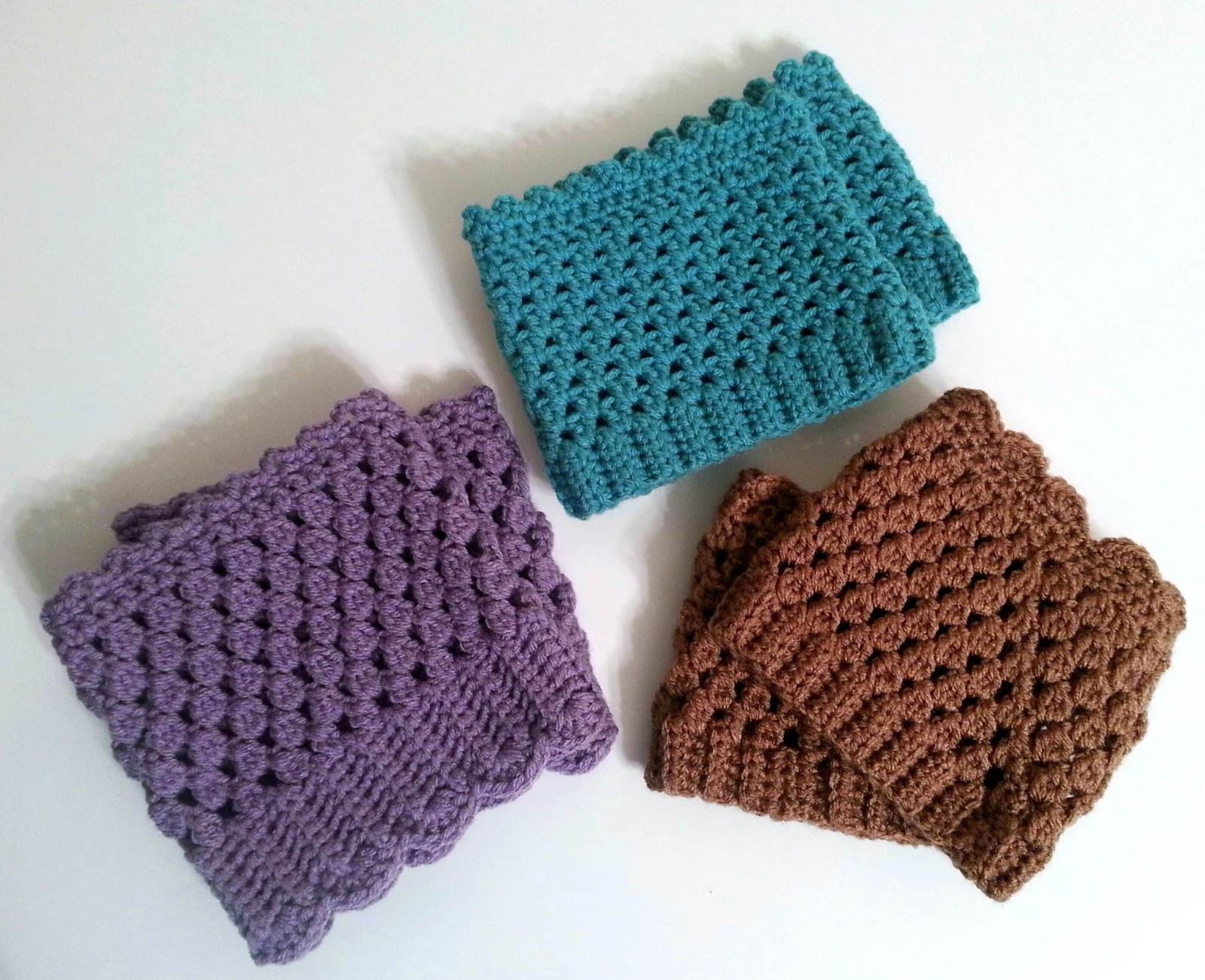 Beginner Crochet Pattern For Boot Cuffs : Ami Amore: January 2013