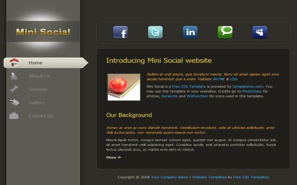 Free CSS Website Templates – Responsive Free Website Templates ...