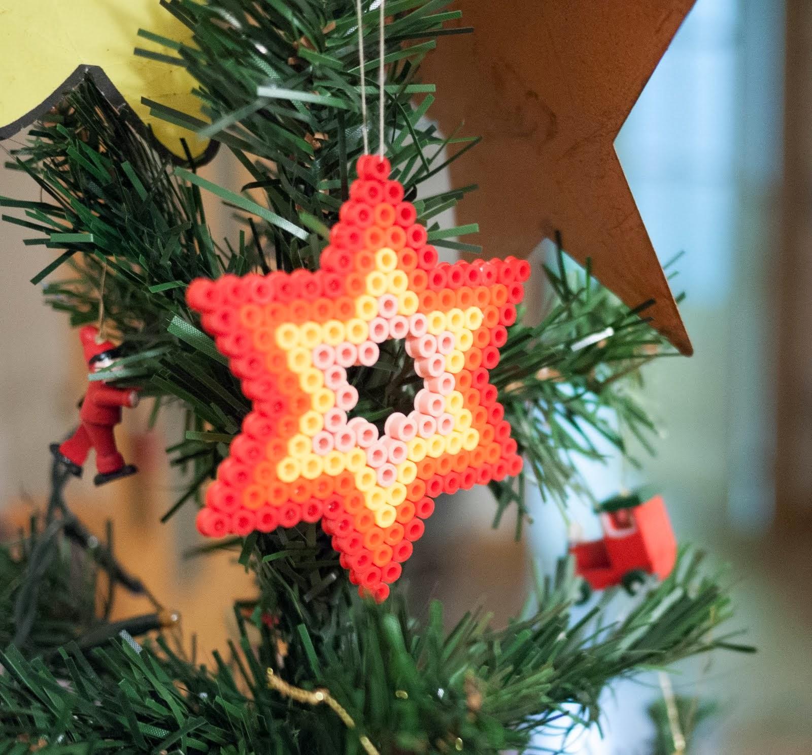 Estrella para el árbol de navidad de Hama