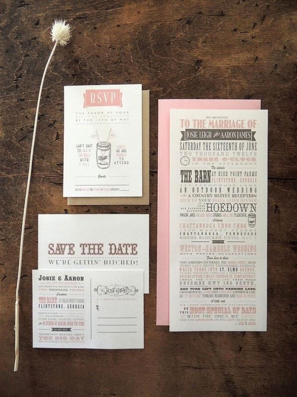 Wedding Invitation Wording Samples 76 Lovely Hoedown Typography Wedding Invitation
