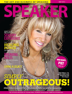 Mikki Williams SPEAKER magazine cover photo