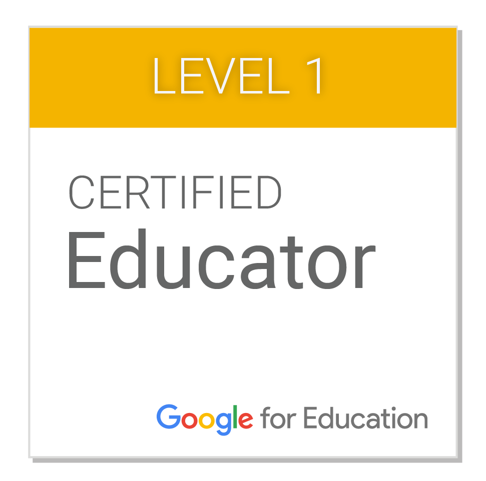 Certicado Google Educator 1