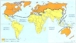 Divisão Entre Países Desenvolvidos e em Desenvovimento