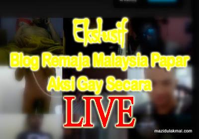 (EKSLUSIF) Blog Remaja Malaysia Papar Aksi Gay Secara Live