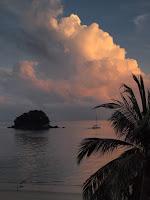 Pulau Renggis from Berjaya Golf Clubhouse