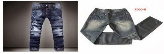 P.P effect on Jeans