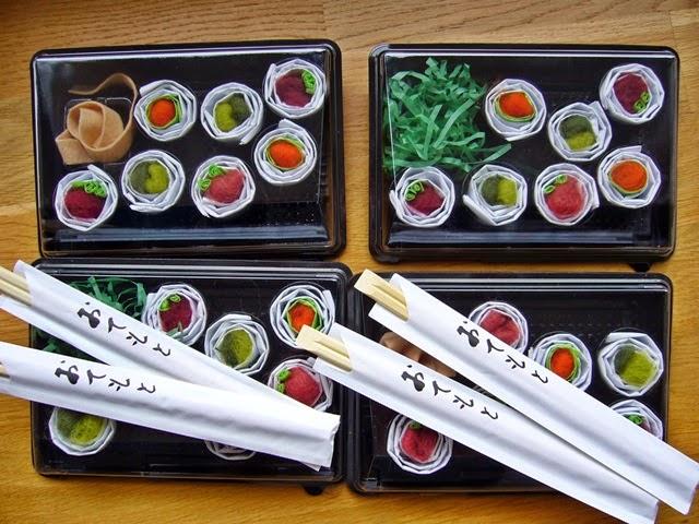 sushi sangskjuler
