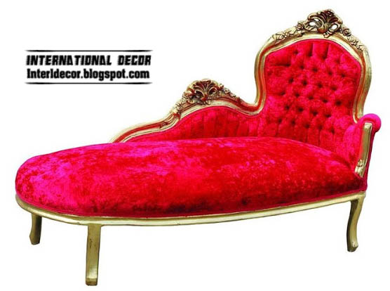 Luxury Red Sofa For Bedroom, Red Velvet Sofa Luxury Design