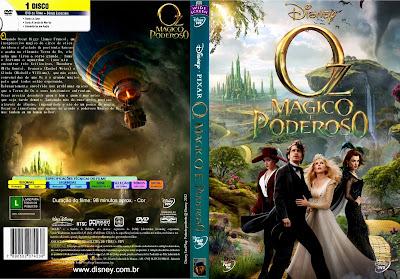 Filme Oz Mágico e Poderoso DVD Capa