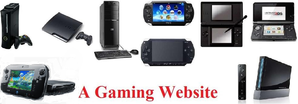 A Gaming Website