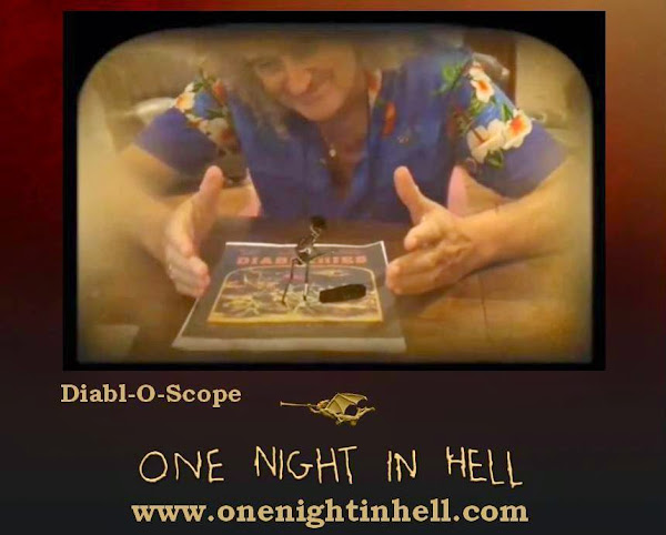 Diabl-O-Scope / Diableries App de One Night In Hell , lanzamiento 3D multimedia Brian May