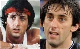 muito parecidos Diego Militor ator Stallone