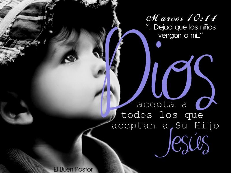 YO SOY EL BUEN PASTOR: Marcos 10:14