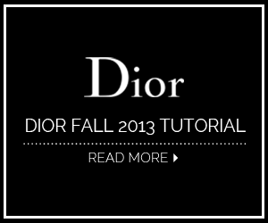 Dior Fall 2013 Tutorial