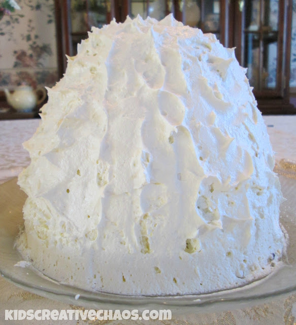 Baked Alaska Recipe with Optional Fillings