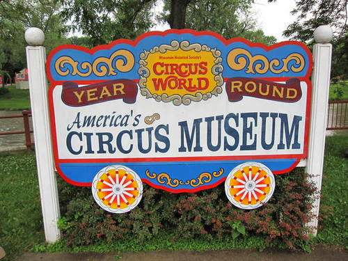 CIRCUS NOW OPEN!