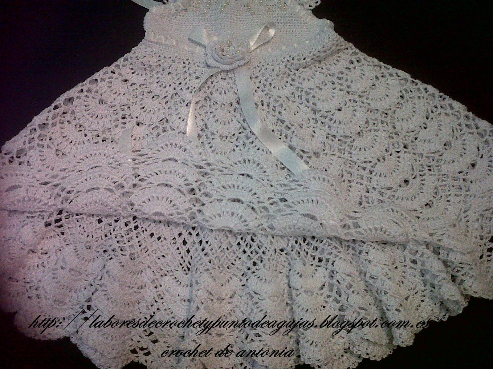 Vestidos De Nina En Crochet