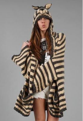 Animal Hooded Wrap