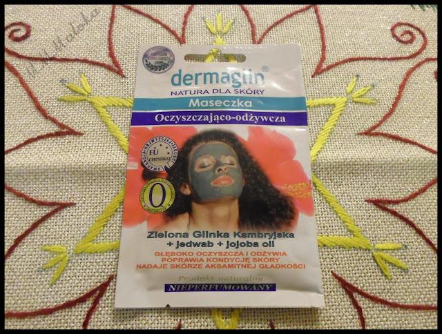 dermaglin - maseczka oczyszczająco-odżywcza z zieloną glinką